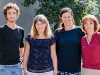 Klasse 1b, Schäfchen: Frau Bügler, Frau Salzig, Frau Simon & Herr Trenkenschuh