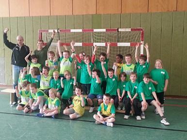 Unsere Handball-Mannschaft