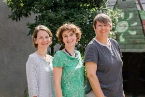 Fachlehrerinnen 2017|2018: Frau Pelster, Frau Geppert, Frau Buttgereit (v.l.n.r.)