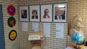 Neugestaltung der Eingangshalle: Politische Bildung