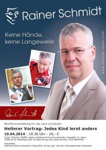 Plakat Rainer Schmidt
