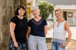 Leitungsteam Kinderwerk Baronsky: Frau Rommelfanger, Frau Seger-Koretz (Pädagogische Leitung), Frau Steines