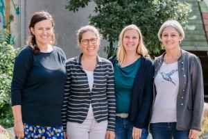 Sonderpädagoginnen 2017|2018 : Frau Salzig, Frau Konopka, Frau Riensche, Frau Rieth (v.l.n.r.)